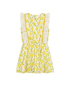 Masala Baby Girls Fantasia Dress Lemon Blossom