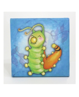 Image of 3 Stories Growing Kids Caterpillar To Butterfly Canvas Art