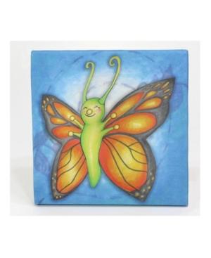 3 Stories Growing Kids Caterpillar To Butterfly Canvas Art