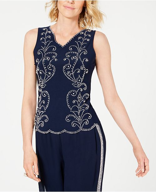 28th & Park Embellished Top, Created for Macy's
