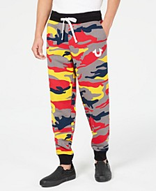 Men's Colorful Camo Jogger Pants