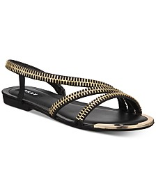DKNY Khloi Flat Sandals, Created for Macy's
