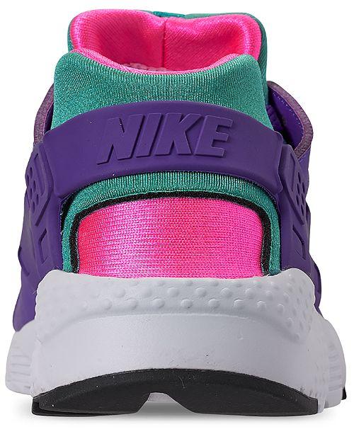 ebf98b29ccd77 ... Nike Girls  Air Huarache Run Ultra Now Running Sneakers from Finish ...