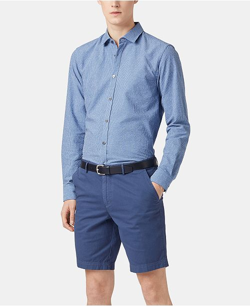 169b949b9f4 BOSS Men's Rikki Slim-Fit Shirt