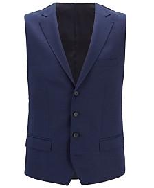 BOSS Men's Novan Slim-Fit Wool Waistcoat