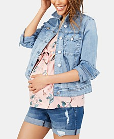 Motherhood Maternity Denim Jacket