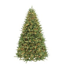 Puleo International 6.5 ft. Pre-lit Davidson Fir Premier Artificial Christmas Tree 550 UL listed Clear Lights