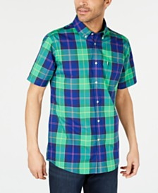 Barbour Men's Toward Slim Fit Plaid Shirt