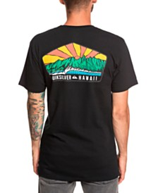 Quiksilver Men's Ala Moana Graphic-Print T-Shirt