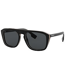 Burberry Polarized Sunglasses, BE4286 55