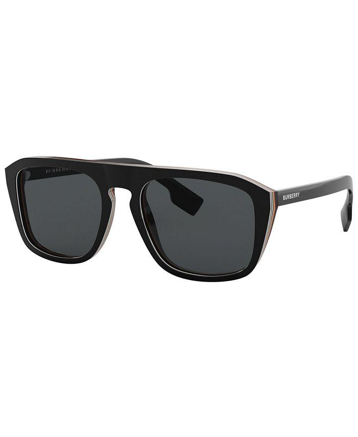 Burberry - Polarized Sunglasses, BE4286 55