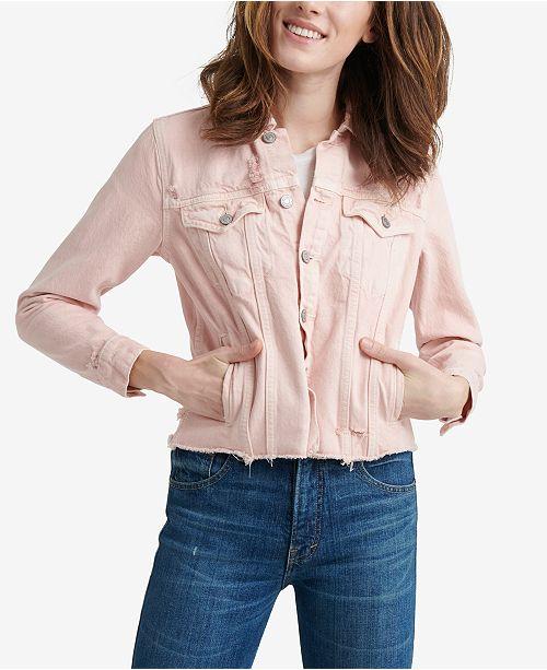 Lucky Brand Tomboy Cotton Trucker Jacket