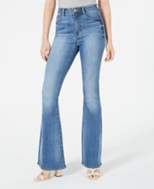 Articles of Society High-Rise Flare-Leg Jeans