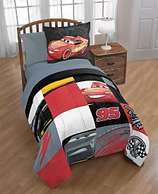 Disney Cars 3 Twin/Full Quilt with Sham