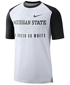 Men's Michigan State Spartans Vault Raglan T-Shirt