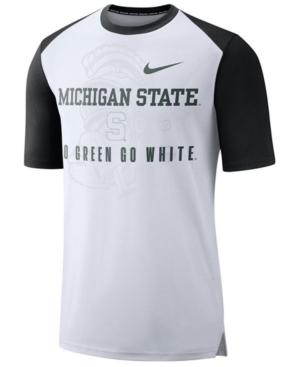 Nike Men's Michigan State Spartans Vault Raglan T-Shirt