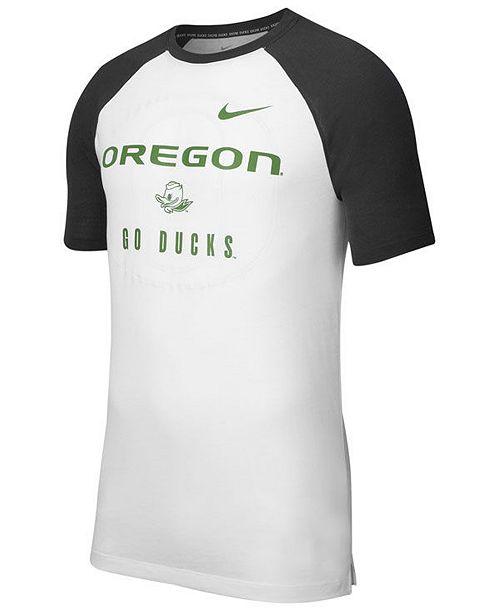 Nike Men's Oregon Ducks Vault Raglan T-Shirt