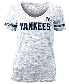 5th & Ocean Women's New York Yankees Space Dye T-Shirt