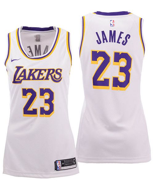 more photos e6da9 fae21 Women's LeBron James Los Angeles Lakers Swingman Jersey