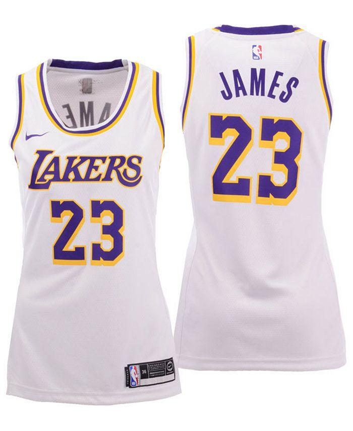 Nike Women's LeBron James Los Angeles Lakers Swingman Jersey ...