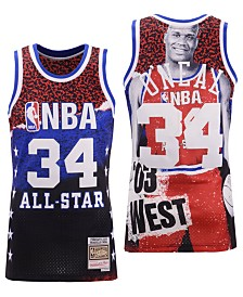 Mitchell & Ness Men's Shaquille O'Neal NBA Fashion All Star Swingman Jersey