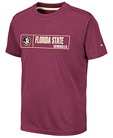 Colosseum Big Boys Florida State Seminoles Boxed Logo Polyester T-Shirt