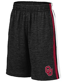 Colosseum Big Boys Oklahoma Sooners Team Stripe Shorts