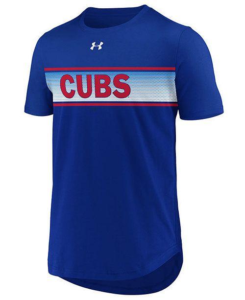 Under Armour Men's Chicago Cubs Seam to Seam T-Shirt