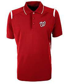 Antigua Men's Washington Nationals Merit Polo