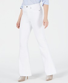 Kendall + Kylie Stunner Flare-Leg Jeans