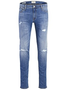 Jack & Jones Men's Slim Fit destroyed Jeans