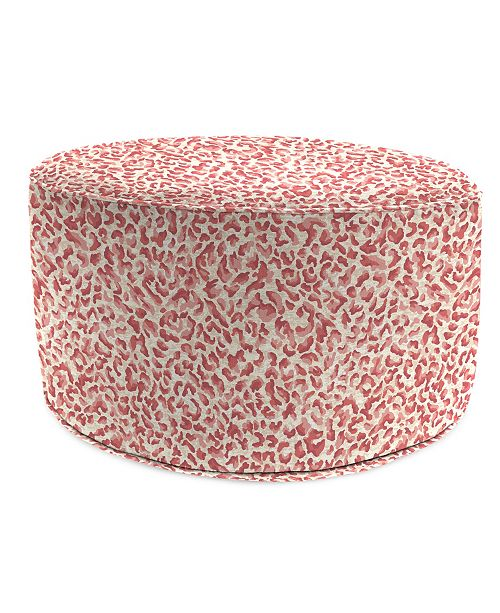 Tremendous Round High Outdoor Pouf 1 Pack Squirreltailoven Fun Painted Chair Ideas Images Squirreltailovenorg