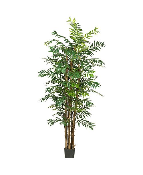 Nearly Natural 7' Faux Palm Faux Silk Tree