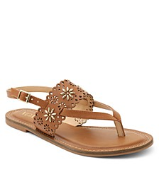 Ronia Thong Sling Back Sandals