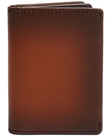 Tumi Men's Nassau Gusseted Leather Card Case