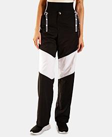 Sierra Printed Parachute Track Pants