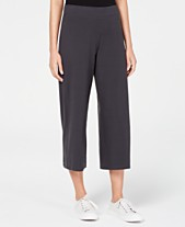 02197fdb81c Eileen Fisher Wide-Leg Cropped Pants