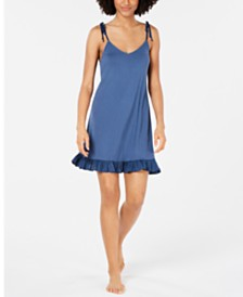 Josie By Natori Sweet Street Ruffled Chemise Nightgown