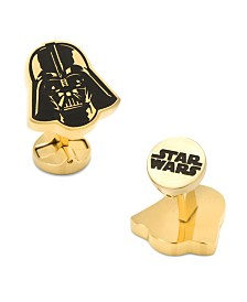 Stainless Steel and Darth Vader Cufflinks
