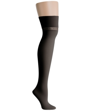 Dkny Accessories LOGO KNIT OVER-THE-KNEE SOCKS