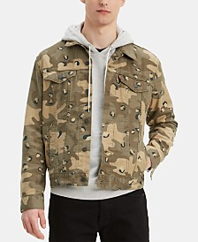 Levi's® Men's Camo Denim Jacket