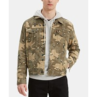 Levi's Men's Camo Denim Jacket