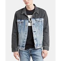 Levis Men's Colorblocked Denim Jacket