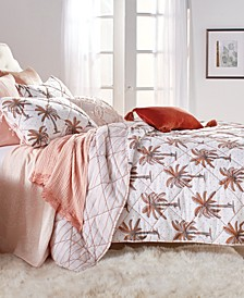 Home Palm Tree King Quilt