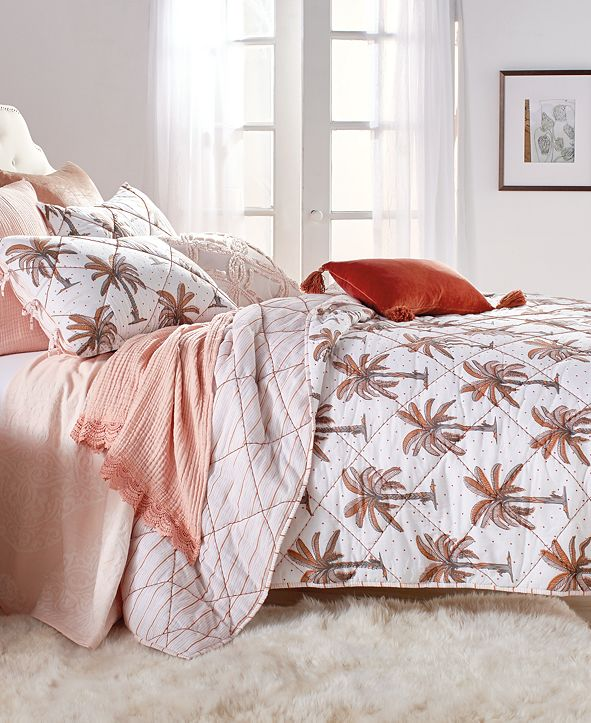 Peri CLOSEOUT! Home Palm Tree Full/Queen Quilt