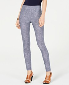 MICHAEL Michael Kors Printed Leggings, Regular & Petite