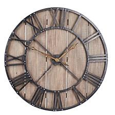 Roman Numerals Vintage Wall Clock