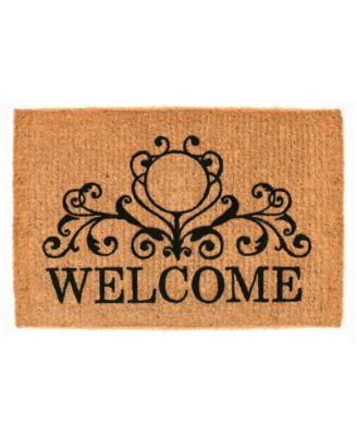 Kingston Welcome 3' x 6' Coir Doormat