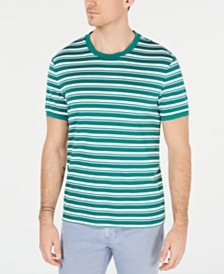 Michael Kors Men's Stripe T-Shirt, Created for Macy's