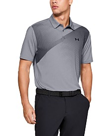Under Armour Men's Shoulder Striped Playoff Polo